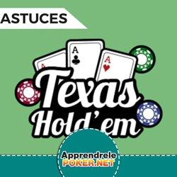 Astuces tournoi de poker Hold'em