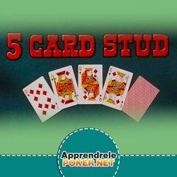 Stud à 5 cartes